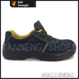 Basic Style Injection Safety Shoe with Suede Leather (SN1242)