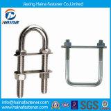 Grade 8.8 4.8 Zinc Plated HDG Carbon Steel U Bolt Stainless Steel Ss316 Ss304 B8 B8m U Bolt