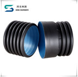 Perforated HDPE Double Wall Corrugated Pipe
