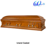 Poplar Veneer MDF Matt Gloss New Design Coffin and Casket