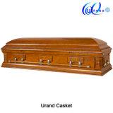 Poplar Veneer MDF Matt Gloss New Design Coffin and Casket