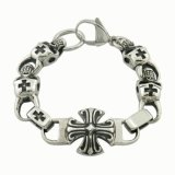 316L Stainless Steel Jewelry Skull Bracelet