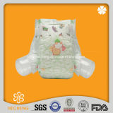 China Cotton Disposable Baby Nappy with Cloth Like Back Sheet