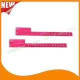 Entertainment 1 Tab Vinyl Wristbands ID Bracelet (E6070-1-10)