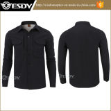 Esdy Sharkskin Soft Shell Men Long Shirt Tactical Shirt