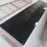 Wholesale Countertop Material Pure Black Acrylic Stone Solid Surface Sheet