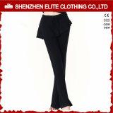 Fashion Trend Fitness Wear Workout Yoga Skirt Pants Black 9eltli-78)