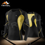 Men′s Long Sleeved Shirt Compression Training T-Shirt for Sport