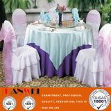 Fabric Metal Chair Wooden Furniture Banquet Chair Restaurant Series