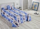 100% Microfiber Kid′s Quilt Set (bedspread set)