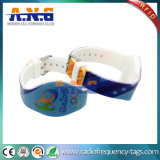 13.56MHz Adjustable and Waterproof Silicone RFID Bracelet for Swimming Pool