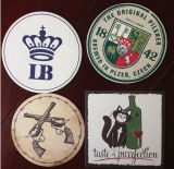 Full Colour Logo Print Beer Coaster for Pronotional Gift