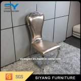 Restaurant Metal Tiffany Chair Genuine Leather Dining Chair Modern Design