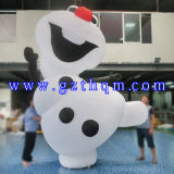 Amusement Character Advertising Inflatable Snowman/Giant Inflatable Santa Claus Cartoon