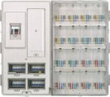 Single Phase Residential Electric Meter Box 16 Positions