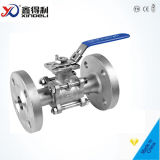 DIN Flanged 3PC Stainless Steel Ball Valve (Pn40 CF8m/1.4408)