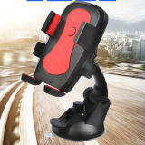 "360 Degree Rotating Cellphone Tripod Adapter Monopod Mount Holder with Dual 1/4""-20 Screw Hole for Small and Big"