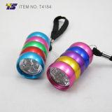 Colorful Body 6 LED Flashlight (T4184)