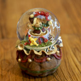 Wholesale Water Globe Resin Christmas Balls