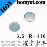 Nickle Plated Stainless Steel Metal Dome Hardware Products for Tact Switch