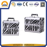 New Product Fashion Aluminum Beauty Case Cosmetic Case Maekup Case with 4 Trap for Make-up Artist (HB-6336)