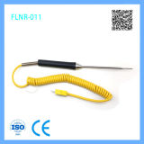 K Type Thermocouple Probe with a Pointed End
