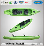 Large Capacity LLDPE Sit in Fishing Kayak
