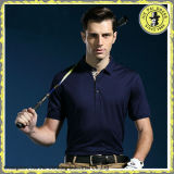 Custom 100% Polyester Dry Fit Mens Wholesale Golf Polo Shirt