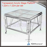 Outdoor Mobile Stage Floor Portable Acrylic Deck Plexiglass Platform