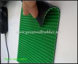Composite Ribbed Anti-Static Rubber Sheet, Green Black Anti-Static Sheet / Mat