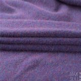 Yark Hair and Wool Fabric with Knitted for Winter in Purple