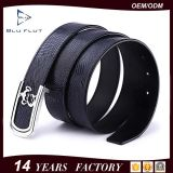Low MOQ Factory Wholesale Man Belt with Fashion Steel Buckle