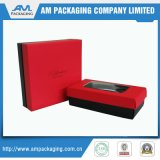 Hot Stamping Chocolate Paper Box Foldable Carton Lid and Base
