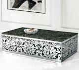 Italian Design Square Marble Top Coffee Table