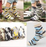OEM Colorful Camouflage Pattern Dress Socks