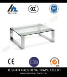 Hzct117 Remi Coffee Table Metal Glass Tea Table