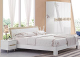 New Elegant Design High Gloss Lacquered Modern Bedroom Furniture (HC917)