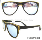 Handmade Fashion Mirror Wood Sunglasses