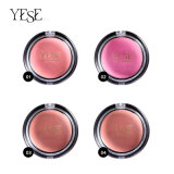 Makeup Blush with Brush for Cheek Red Cosmetics Face Makeup