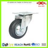 100mm Swivel Plate Rubber Wheel Caster (P103-11D100X30)