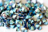 Amethyst Ab Flat Back Rhinestone Glass Bead for Hair Accessories