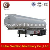 China Fuel/Oil Tank Semi Trailer 3 Axle with Leaf Spring Suspension