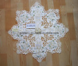Candle Xmas Star Table Cover St1748