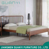 Chinese Modern Stylish Bedroom Furniture Design King Size Wooden Platform Simple Double Bed