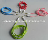 Colorful 3.5mm Male to 3.5mm Male Noodle Audio Cable