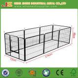 Good Quality 8 Panels Powder Coated Dog Fence Animal Fence Pet Fence