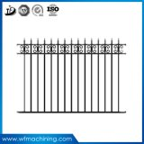 OEM Casting Wrought Iron Moulding Fence Panel Sand Cast Supplier