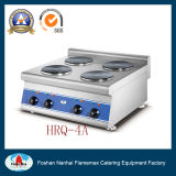 Stainless Steel/7.2kw/Electric (220V) 4-Plate Electric Cooker (HRQ-4A)