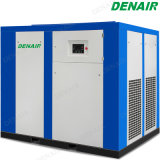 Stationary Lubricated Industrial Electric Low Pressure Rotary Screw Air Compressor