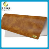 Best Selling Abrasion Resistant Furniture Artificial PVC Leather (Eco-friendly)